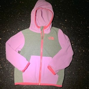 North face infant zip up hoodie 18-24 months
